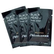 Очищающая маска пленка черного цвета для лица и носа.