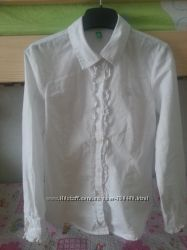 Школьный сарафан, юбка рубашка блуза benetton