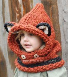Стильные шапочки для деток