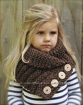 Стильные теплые шарфы