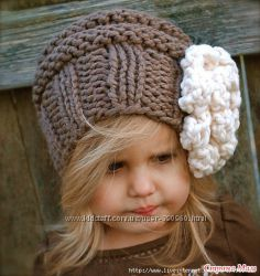 Стильные теплые шапочк