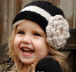 Стильные шапочки Крупная Вязка