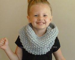 Крупная вязка Снуды шарфы