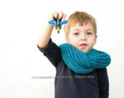 Стильные шарфы Снуды