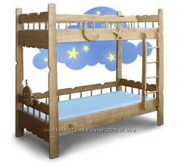 Двухъярусная кровать Врунгель