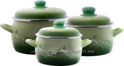 Набор посуды эмаль METROT Лето 2266