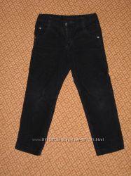 BCK Wenice Вельветовые фирменные брюки - дудочки BCK на мальчика р. 98 104