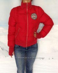 Eko Red S42-44 женский красный зимний пуховик куртка зимняя красная