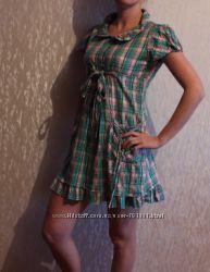 Продам платье сарафанчик в клеточку