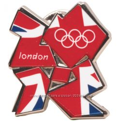 Значок Official London 2012  Jack Logo