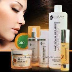 Global Keratin hair безсульфатный домашний уход