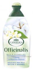 Гель для душа и пена для ванны Langelica в ассортименте производство Италия