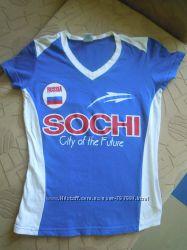 Классная футболочка SOCHI