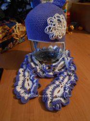 Вяжу на заказ шапочки, шарфы и не только