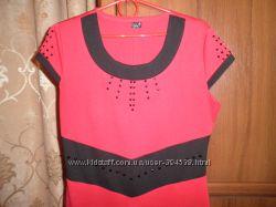 Трикотажное платье 48-50 р