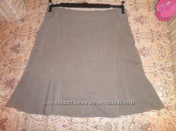 Юбка-колокольчик из костюмной ткани 46-48 р.
