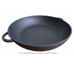 Сковорода чугунная Берлика 260х60 мм с ушками 4820159220212.
