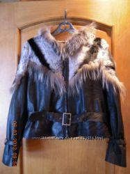 Кожаные куртки, пальто женские, подростковые Турция отличное качество