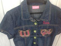 Хорошенькое джинсовое платье фирмы Waikiki в хорошем состоянии