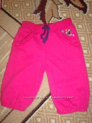 штаны розовые