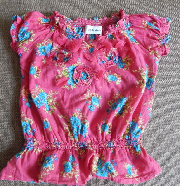 блузка на 1, 5 - 2, 5 лет, 92 см