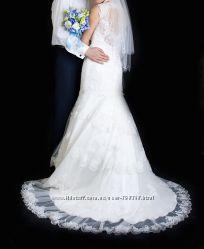 Свадебное платье Di jean mariage Paris & Miss Kelly кружево айвори