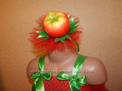 карнавальный костюм помидорки