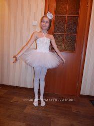 юбка к костюму снежинки