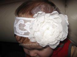 Ручная работа - повязки для малышек