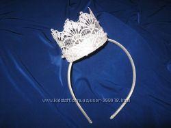 кружевные короны для принцессы