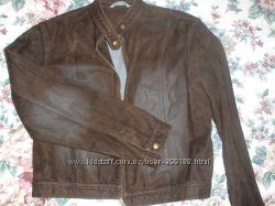 куртка c эффектом замши