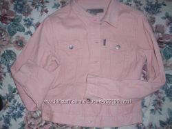 Нежная розовая куртка