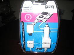 Автомобильное зарядное устройство для iPod и USBMini USB зарядных устройст