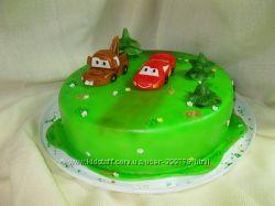 Торт на заказ Тачки