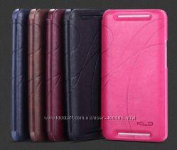 Кожаный чехол-книжка KLD Oscar 2 для HTC One M7