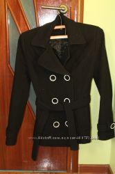 Пальто черное кашемировое р. S-M