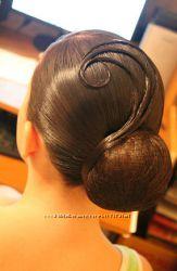 Для волос - сетка-невидимка для красивых укладок
