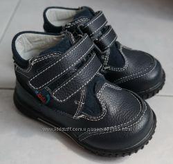 Деми ботинки Kids р. 23, 15 см по стельке от края до края, кожа