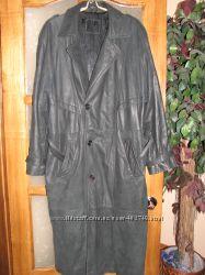 продам кожаный мужской плащ