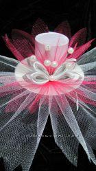 Шляпка декоративная для новогоднего костюма Бусинка