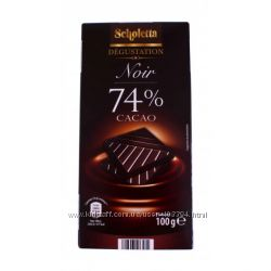 Превосходный экстра-черный французский шоколад Noir, 74 процента какао