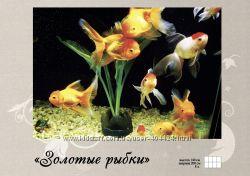фотообои Золотые рыбки