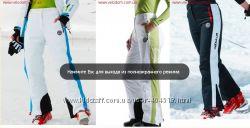 женские лыжные штаны Nebulus Rocket белый