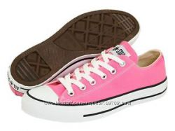 Converse кеды розовые