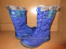 Зимние сапоги Сolumbia  Omni Heat р. 32 фиолетового цвета