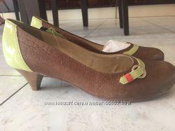 Туфли кожаные Cravo&Canela