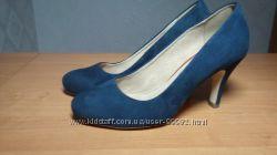 Туфли NEXT натур. замша р. 37, кожа