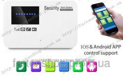 Комплект беспроводной сигнализации Alarm GSM G02