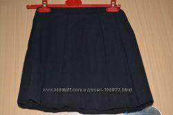 юбка школьная плиссировка