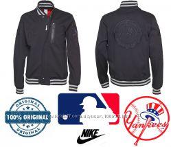 Крутая бейсбольная клубная куртка бомбер Оригинал Nike USA р. M